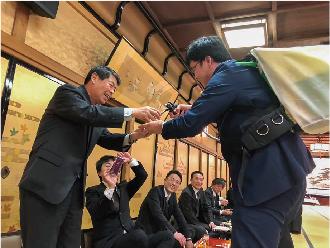 大島自動車販売 株式会社 デビュー Debut! 上越 就職情報 高校生 新年会
