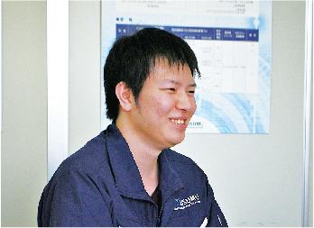 進工業 株式会社 新潟工場 上越 就職情報 デビュー Debut! 社員1